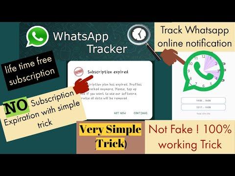 Whatsapp Online Notifcation||Free Unlimited Life Time -2021 || Whatsapp Tracker
