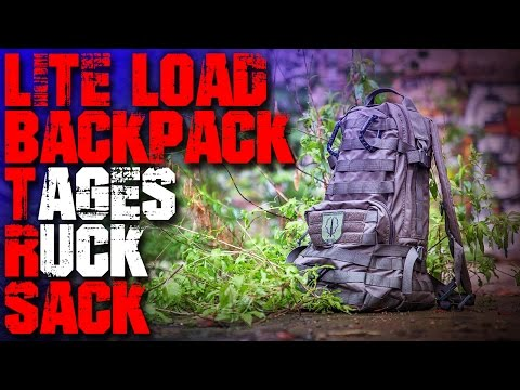 LBX TACTICAL - LITE LOAD BACKPACK-  Rucksack Review Test EDC Airsoft (Deutsch/German)