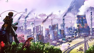 Building an Industrial Empire on this Alien Planet is very Satisfactory