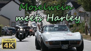 Moselwein meets Harley 2018 - Germany 4K Travel Channel