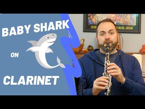 Learn Baby Shark on Clarinet!