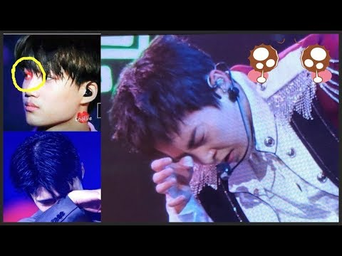 EXO Ditembaki LASER oleh ANTIFANS terus-menerus saat konser, Bikin EXOL khawatir !