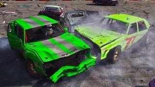 THE CRAZIEST DEMO DERBY EVER! - Next Car Game Wreckfest UPDATE Gameplay