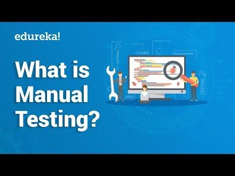 What is Manual Testing?   Manual Testing Tutorial For Beginners ...