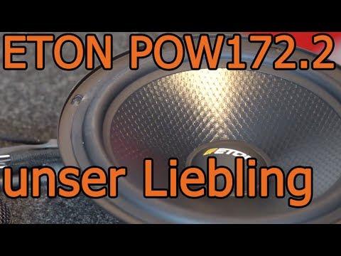 Eton POW172.2 - unsere Lieblinge für geilen Sound im Auto - 16cm Lautsprecher