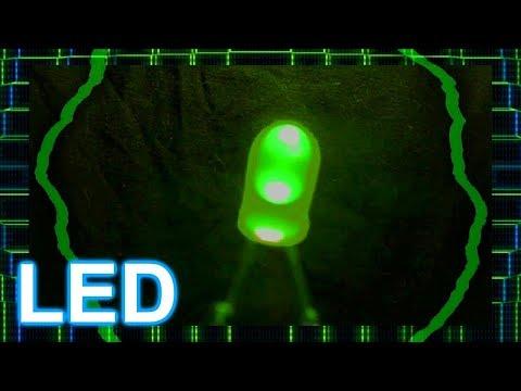 O que é um LED , como funciona ,quais são suas utilidades ? COMO LIGAR 2018