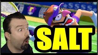 DSP Tries It   SALTY Mario Tennis Aces