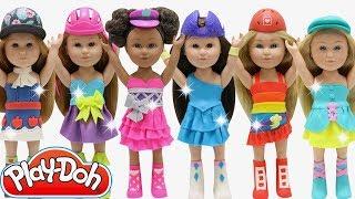 Play Doh My Life As  Equestria Twilight Sparkle Pinkie Pie Rainbow Dash Fluttershy Applejack Rarity