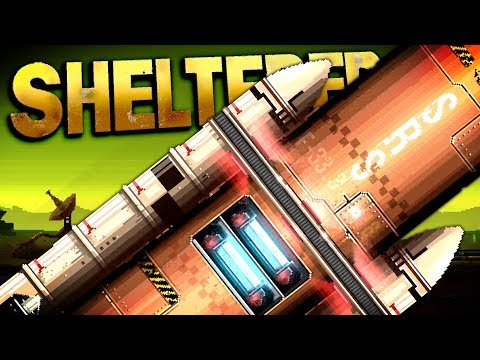 Sheltered: Stasis - FIX THE ROCKET AND ESCAPE! The Last Humans on Earth! - Sheltered Stasis Gameplay