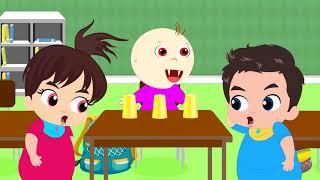 Moon Baby  Играть в игру для детей  С Днем Рождения Смешные с моими друзьями  - Образовательное вид