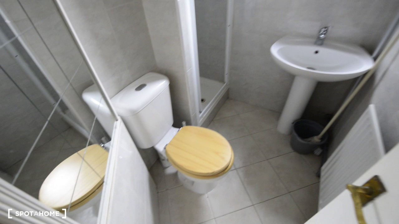 Ensuite room to rent in bright house with garden in North Acton