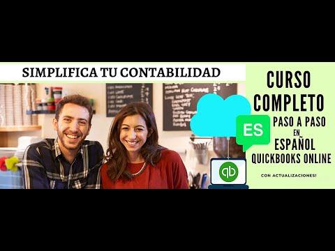 Muestra del Curso Quickbooks Online en Español| ( in Spanish). Módulo 1 del Curso de Video.