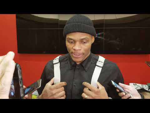 Russell Westbrook after Rockets rout of Blazers
