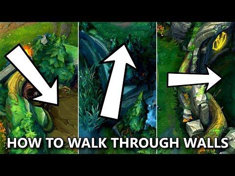 召喚峽谷記住這幾個點可以穿牆