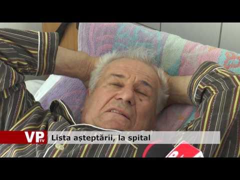 Lista așteptării, la spital