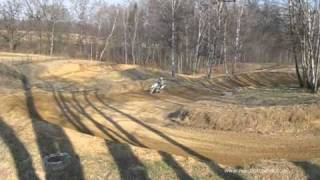 preview picture of video 'Trening tor motocross Petrovice u Karvine 29.03.2011'