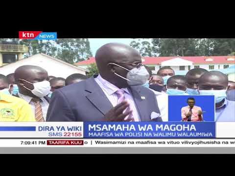 Msamaha wa Magoha: Watahiniwa waliopatikana wakijihusisha na wizi wa mtihani wa KCSE watasamehewa