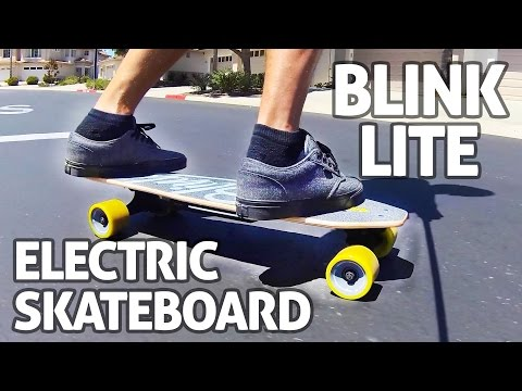 Blink Lite Electric Skateboard, World's Lightest + Very Affordable – REVIEW