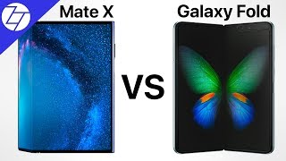 Samsung Galaxy Fold VS Huawei Mate X - Which One to Get?