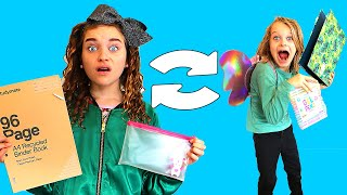 SCHOOL SUPPLIES SWITCH UP Challenge w/ The Norris Nuts