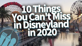 10 Things You Cant Miss In Disneyland In 2020!