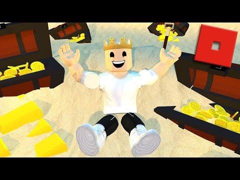 Roblox Treasure Hunt Simulator Videos - Discovering A Huge Treasure Roblox Treasure Hunt