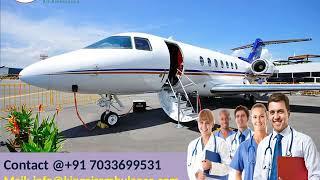 Finest Emergency Air Ambulance in Ranchi and Varanasi by King Ambulance