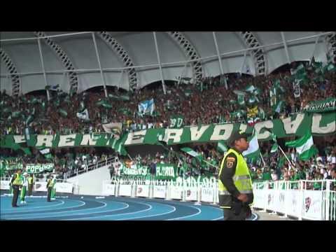 """""""FRENTE RADICAL TODO 2013"""" Barra: Frente Radical Verdiblanco • Club: Deportivo Cali"""