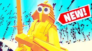 TABS GIANT SAMURAI GOD V.S. 10000 ARROWS!!?! Totally Accurate Battle Simulator