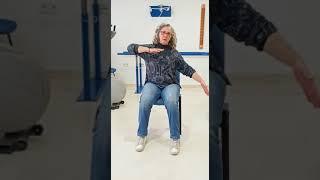 Abdominales sentados en silla