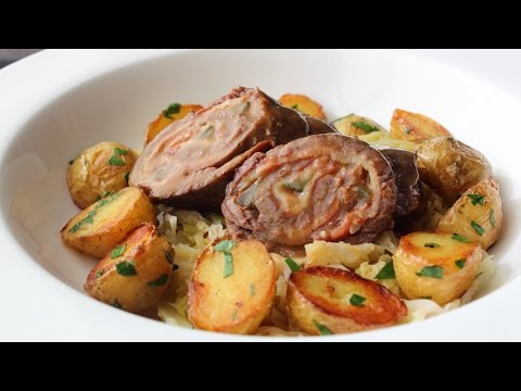 Beef Rouladen – Beef Stuffed with Bacon