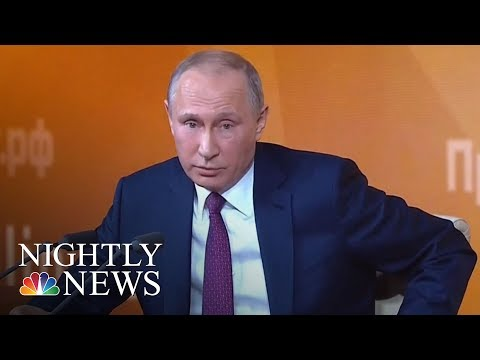 Vladimir Putin Praises Donald Trump, Dismisses Russia Collusion Claims | NBC Nightly News
