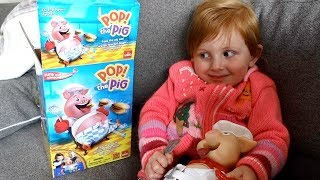 MOM & DAUGHTER PLAY POP THE PIG - Video Youtube