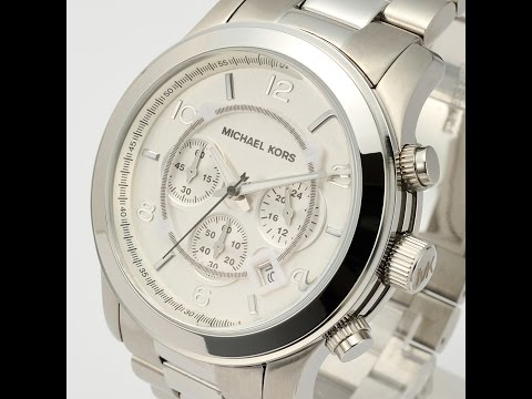 MICHAEL KORS WATCH MK8086 RUNWAY SILVER REVIEW LADIES マイケル・コース ランウェイ シルバー レビュー レディース 腕時計