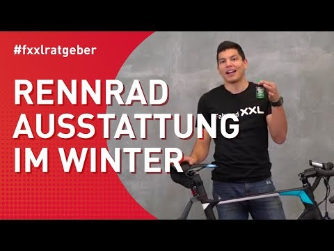 Die richtige Rennradausstattung für den Winter