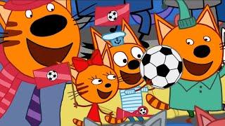 Три Кота | Сборник про спорт | Мультфильмы для детей 🎾🏐⚽