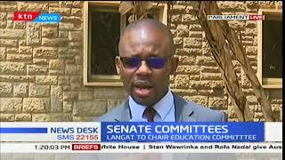 Senators elect heads of the Senate Committees