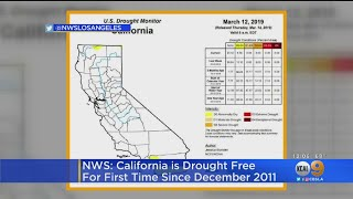 Wet Winter Officially Ends Drought In Most Of California