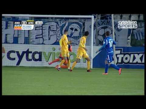 ΒΙΝΤΕΟ: ΑΝΟΡΘΩΣΗ 0-1 ΑΠΟΕΛ | φάσεις και γκολ