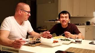 Bữa Cơm Việt Xứ Mỹ [4] Rau Muống Xào Tỏi