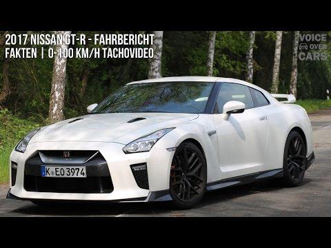 2017 Nissan GT-R Fahrbericht | Fakten | 0-100 km/h | Voice over Cars | GT-R Tachovideo