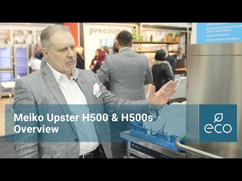 Meiko Upster H500 & H500S: Overview