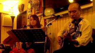 RyukyuKiKi Bashou Fu, 比嘉佐枝子 Saeko Higa 芭蕉布, With 津波恒英先生