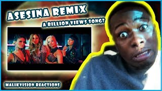 Asesina Remix A BILLI VIEWS Song? | REACTION | Brytiago  Darell  Daddy Yankee  Ozuna  Anuel AA