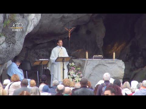 Messe de 10h à Lourdes du 30 septembre 2021