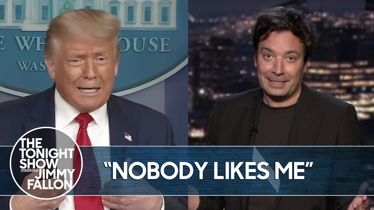 Trump Whines About Dr. Fauci's Approval Ratings | The Tonight Show thumbnail