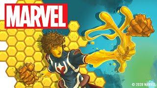 A Super Hero Made of Honey!   Marvel Make Me a Hero