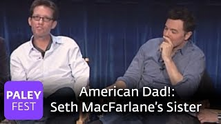 American Dad! - Seth on Working with His Sister