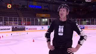 Tilburger Joep Leermakers is scheidsrechter op het WK IJshockey in Slowakije