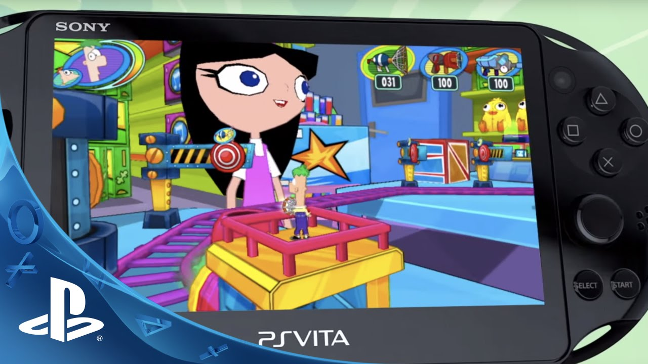Phineas and Ferb: Day of Doofenshmirtz Coming to PS Vita
